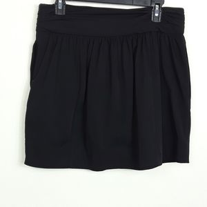 Diane Von Furstenberg | Black Mini Skirt w pockets